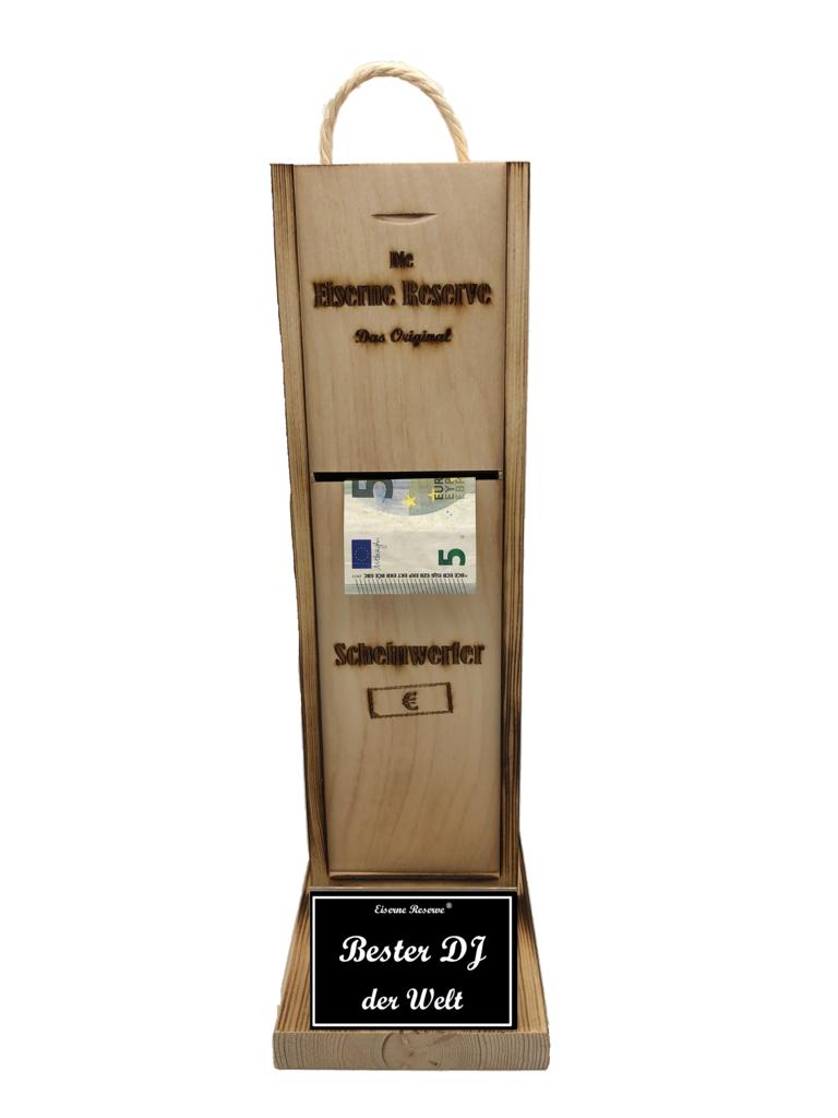 Bester DJ der Welt Scheinwerfer - Geldautomat - Geldgeschenk