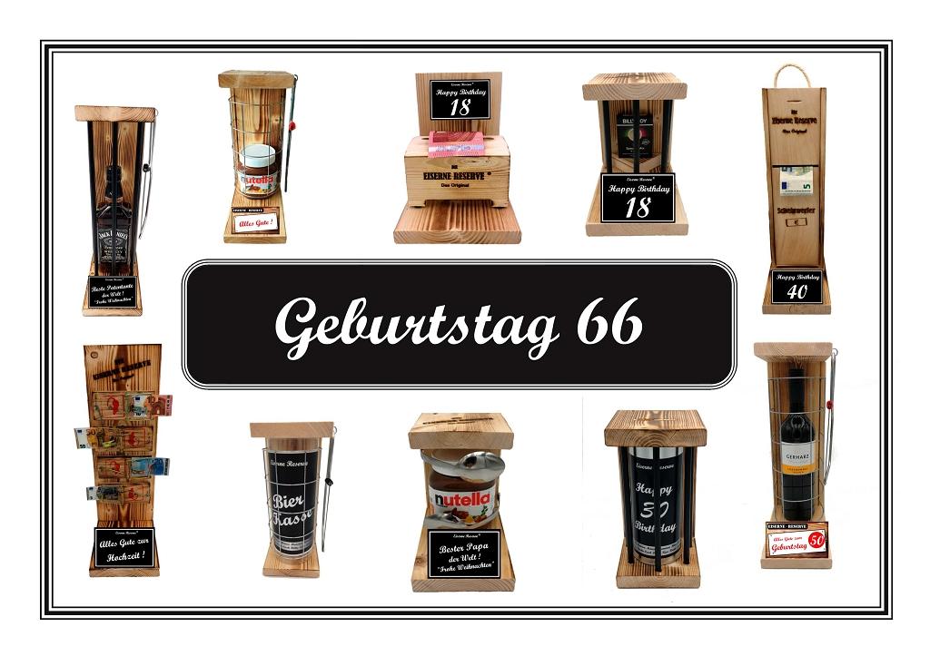 Geburtstag 66