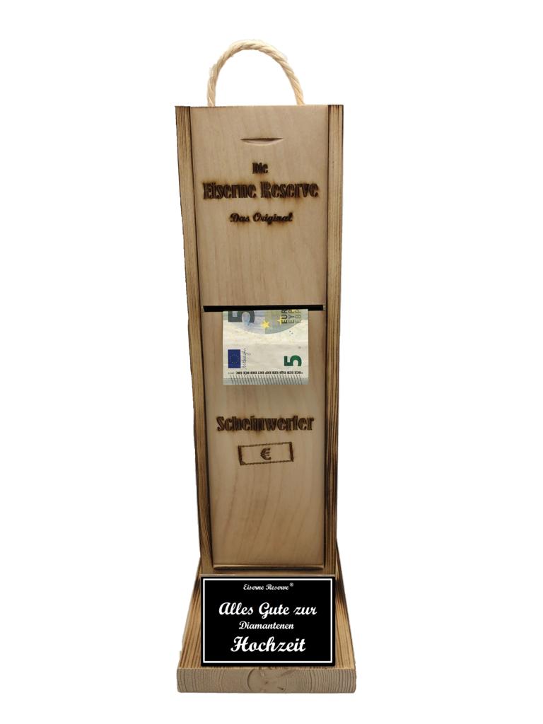 Diamanten Hochzeit Scheinwerfer - Geldautomat - Geldgeschenk