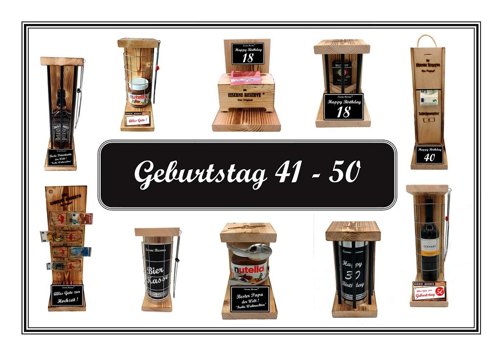 Geburtstag 41 - 50