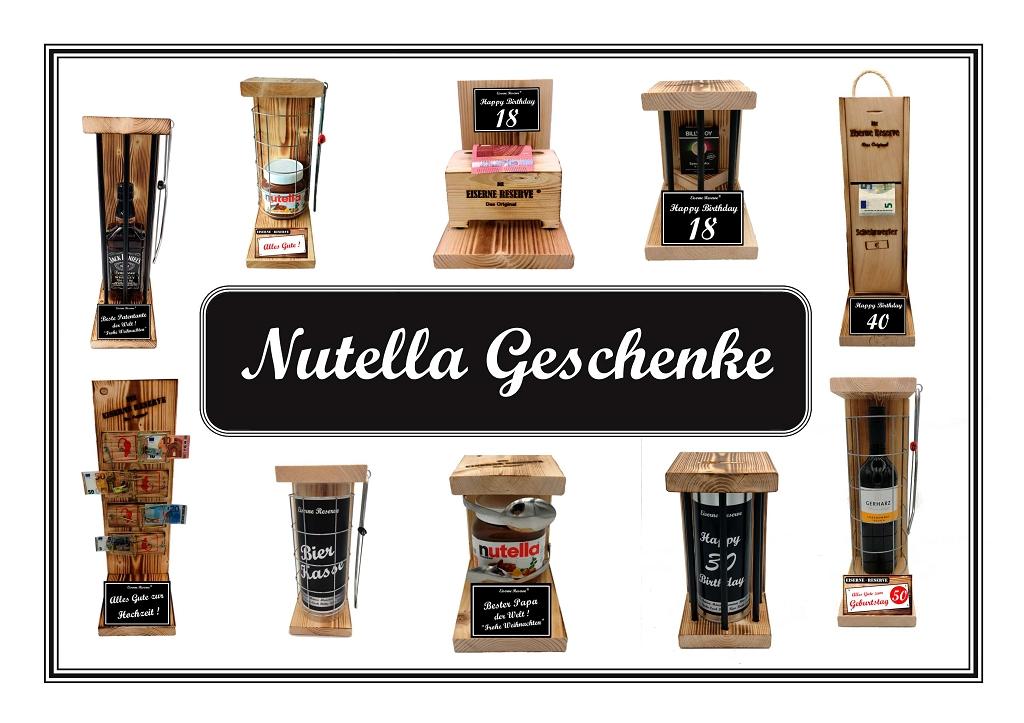 Geschenke mit Nutella