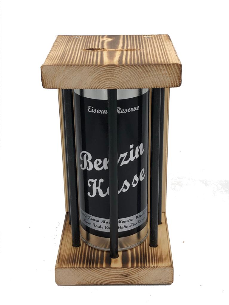 Benzin Kasse Eiserne Reserve ® Black Edition Spardose