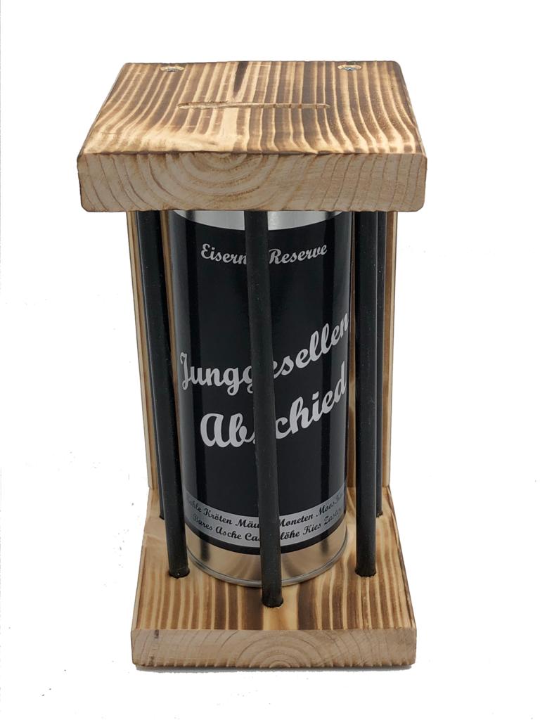 Junggesllenabschied Eiserne Reserve ® Black Edition Spardose