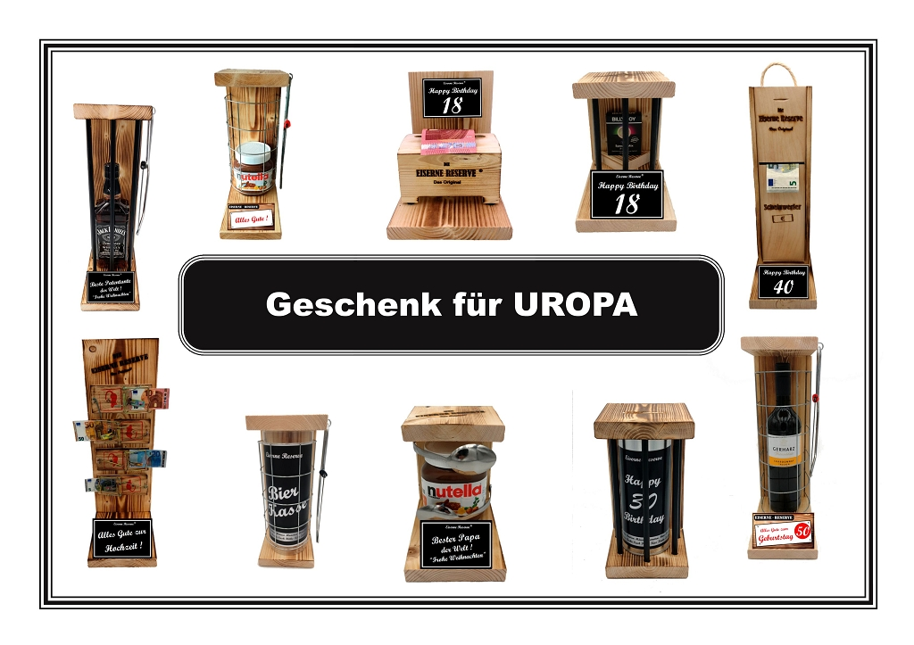 Geschenk für UROPA
