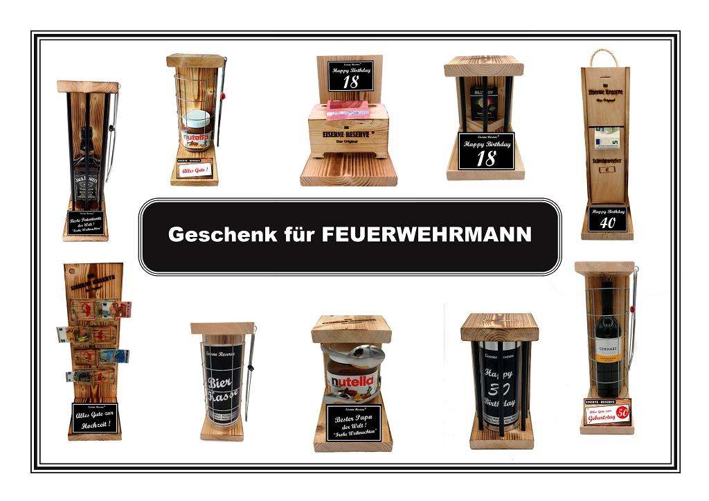 Geschenk für FEUERWEHRMANN