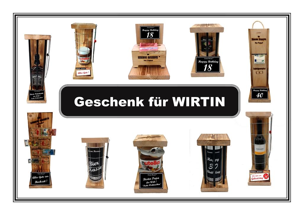 Geschenk für WIRTIN